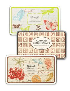 cavallini rubber stamps.