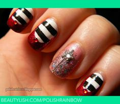 oz nail, wizardofoz, ruby slippers, wizards, nail arts, wizard of oz, wick witch, halloween nail art, halloween nails