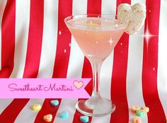 """Sweetheart"" Martini {Fresh Lemon and Pink Lemonade} to melt the winter blues away!"