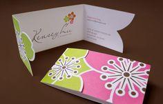 Kensey Lu - Business Card Design Inspiration   Card Nerd