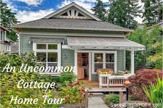 An Uncommon Cottage Home Tour | SweetSimpleHome.com
