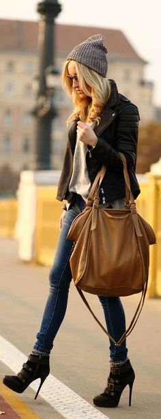 Casual Street Fashion. #women #fashion #style #street