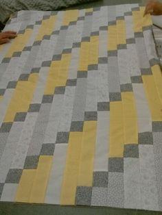 Modern baby quilt....love!