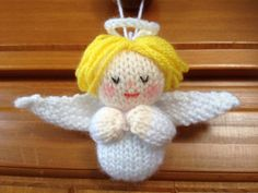 Knitted Angel - Jean Greenhowe