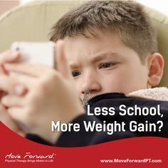 Summer is associated with children at play, but a recent study suggests it's also a time when kids are gaining weight at an increased rate compared with during the school year.