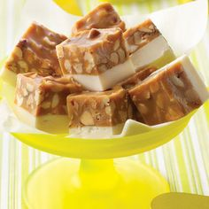 salted nut fudge...