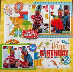 Happy Birthday x2 - Scrapbook.com