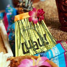 Luau Invites