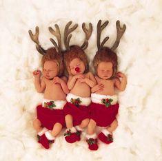 Baby Christmas Reindeers