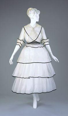 Dress ca. 1915 via The Cincinnati Art Museum