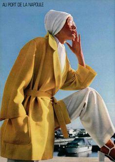 L'Officiel 1970, yellow coat