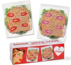 Kisses Sandwich Bags