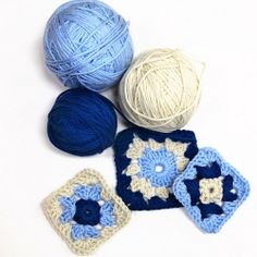 Learn how to make cool granny squares