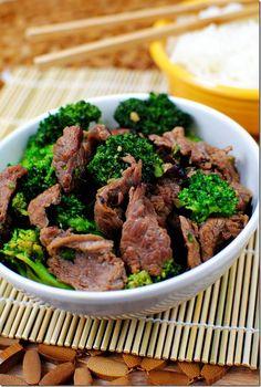 Broccoli Beef    iowagirleats.com