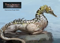 Percy Jackson:Sea of Monsters Concept Art