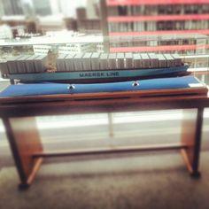 Maersk Line Scale model