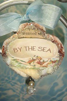 Seashell Mermaid Ornament