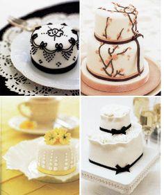 Mini Wedding Cake Favors