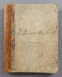 'Volume the First' of Jane Austen's Juvenilia manuscripts, which includes her very early writings.
