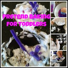 multicraftingmummy: Pretend Baking for Toddlers