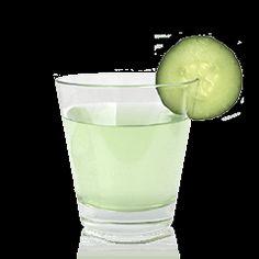 """""""skinny cucumber"""" sake cocktail"""