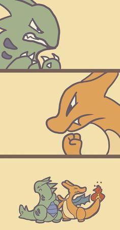 An Epic Pokémon Battle