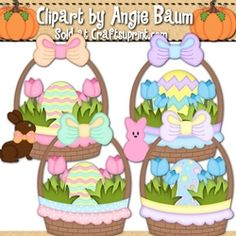 Easter Basket Clipar