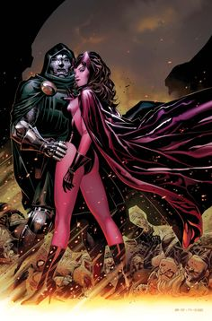 Doom and the Scarlet Witch