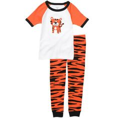 Snug Fit Cotton 2-Piece Pjs (BOYS)