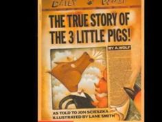 The True Story of the Three Little Pigs - YouTube. We actually kept this book on our coffee table for years as a reminder to our kids that there is more than one side to every story!