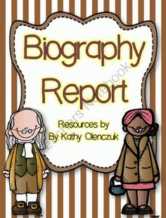 A Biography Report -- Resources for Grades2-4 from Third Grade Doodles on TeachersNotebook.com -  (56 pages)  - Your students can write amazing biography reports....with the help of these resources!!