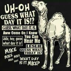 It's.... HUMP DAY!!!!!!!!!!!!!!!
