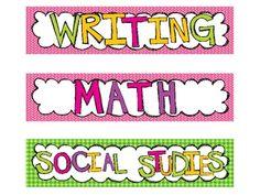 classroom idea, classroom schedul, classroom decor, school year, schedul card