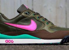 #Nike Air Wildwood LE Khaki/Pink-Olive #sneakers
