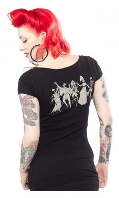 THE MIGHTY SQUIRM DANSE MACABRE TEE