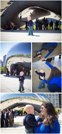children + family photography | chicago millennium park one year birthday session | elle rose photo
