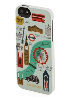 Streets of London iPhone 5/5S Case, #ModCloth @Lauren Davison Davison Davison Davison Armstrong if you get a 5/5S/5C you should get this case for it!