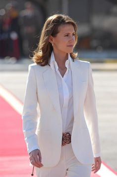 Asma al-Assad is the first lady of Syria