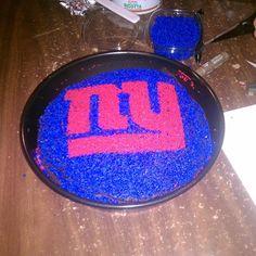 NY Giants Cake @ Vazac Horseshoe Bar