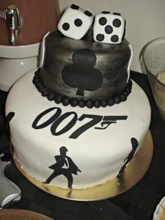 The most amazing James Bond birthday cake | 1924 London