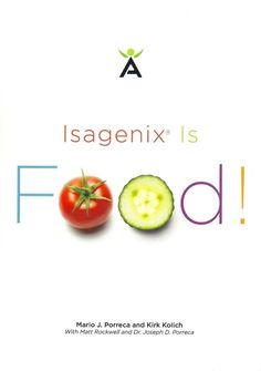 Isagenix is food. Save $ on your groceries and eat healthier than ever!! Trade up to the perfect all-natural food!