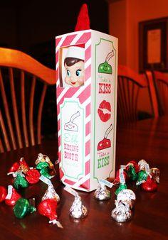 Gorgeous image regarding elf on the shelf kissing booth free printable