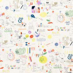 Alexander Henry House Designer - My World of Smiles - My World of Smiles in Tea/Bright
