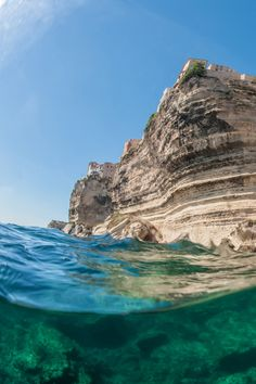 Bonifacio, Corsica, France...