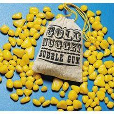 Gold Nugget Bubble Gum