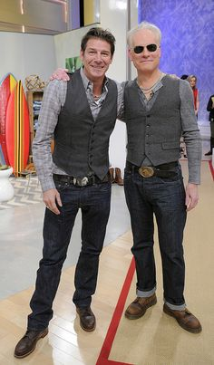 Ty Pennington and Tim Gunn