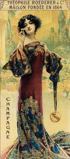 Poster for Roederer Champagne, Alfons Mucha