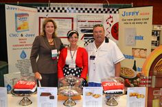Congratulations to Jiffy Mix - 3rd Place (tie) for Best Booth at the 2013 ACFSA Vendor Showcase in Reno!