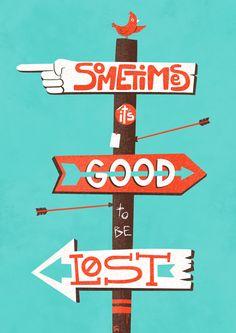 Get lost. by Félix Rousseau