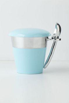 product, cream holder, homemade ice cream, anthropologie, pint holder